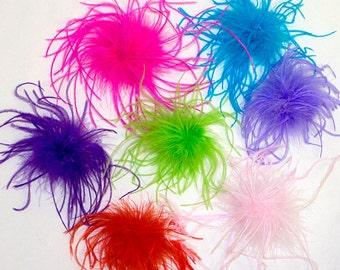 Feather Pouf!