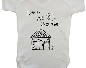 Born at Home Baby Vest