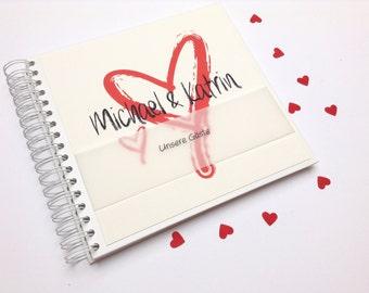 Hochzeitsalbum oder Gästebuch