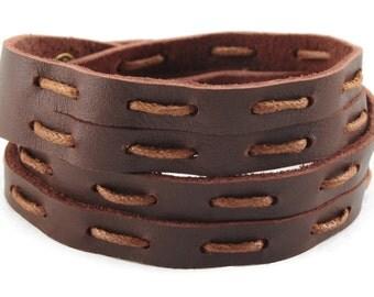axy Leather wrap bracelet LWIC12A-3!  Leather Bracelet