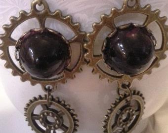 Steampunk Inspired Earrings E 200