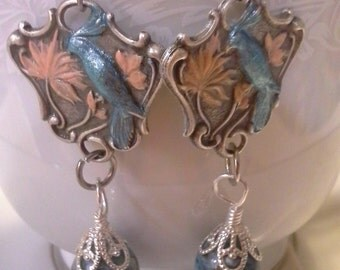 Birds And Beads Earrings E 203