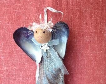 Driftwood Angel Ornaments