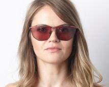 Genuine Original 1980's Paloma Picasso Sunglasses NOS Art Deco