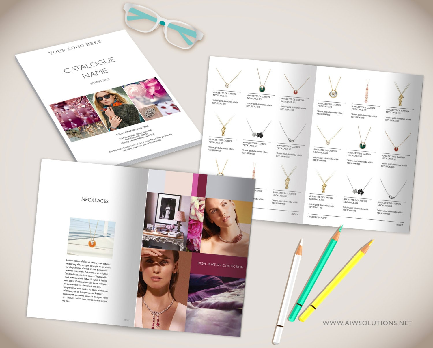 Wholesale product catalog templatephotoshop product catalog for Product design business