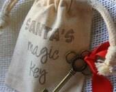 Santa's Magic Key - Santa Key - Christmas Gift - Christmas Key - Keepsake gift - Magic Christmas - Unique Gift for Kids - Gift under 15