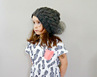 KNITTING PATTERN - The Martta Knitted hat