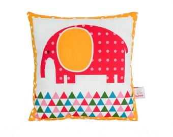 Elephant Pillow, Baby Pillow, Nursery Décor, Travel Pillow
