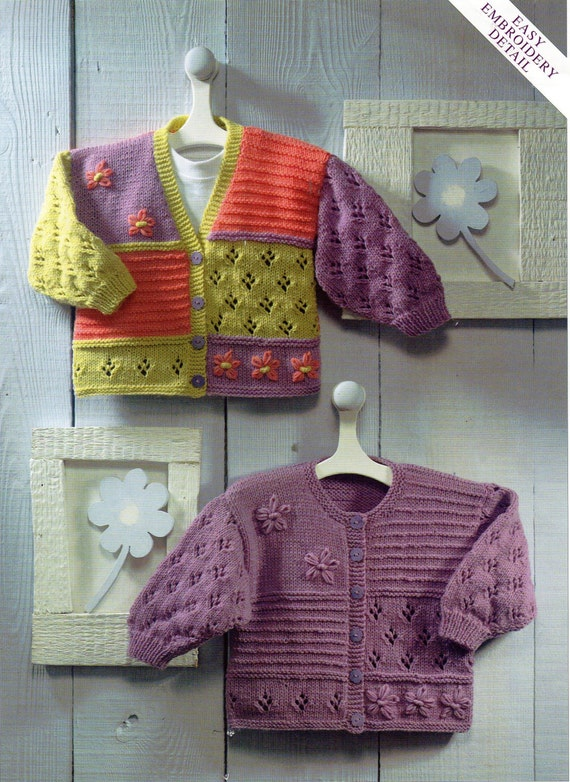 Childrens Knitting Patterns : baby cardigans knitting pattern baby girls childrens jackets ...