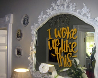 Painted Mirror Designs