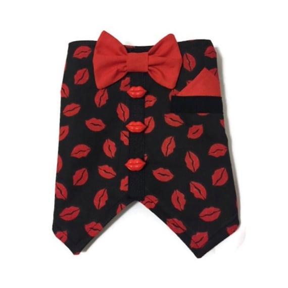 The Ladies Love Me Bow Tie Vest