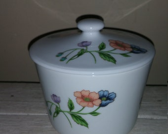 Vintage House of Prill porcelain dish with lid.