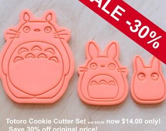 Totoro, Chu, Chibi Cookie Cutters