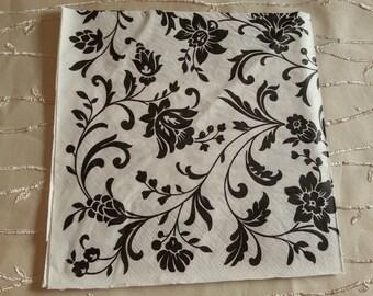 Napkins. Decoupage. Set of 3 piece - Beautiful decoupage napkins 3 paper napkins