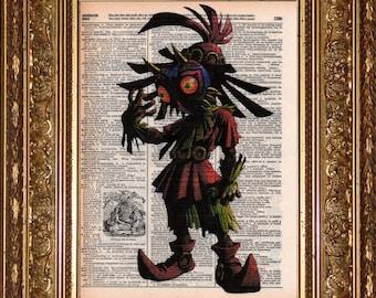 Skull Kid (Zelda) Prints (CHOOSE 1)