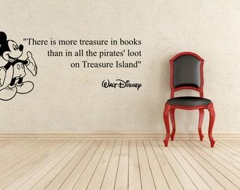 Treasure Island Disney Wall Quote, Wall Art, Decal