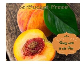 Digital Get Well Card Peaches