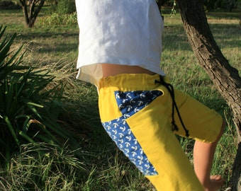 Short pants/shorts in great yellow for boys/boys