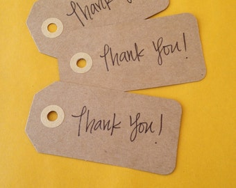 Handwritten Tags With Customizable Message