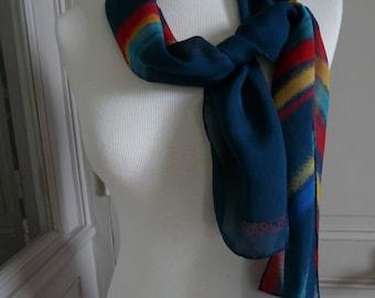 CHARLES JOURDAN - vintage silk scarf