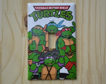 TMNT Classic Light Switch Cover