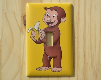 Curious George Light Switch Cover