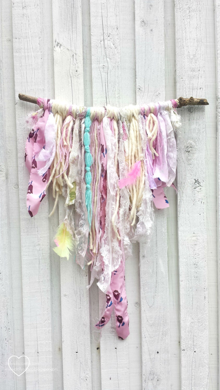 Yarn Wall Hanging Bohemian Decor Gypsy Soul By
