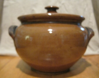 REDUCED PRICE!  Vintage Bean Pot with Lid