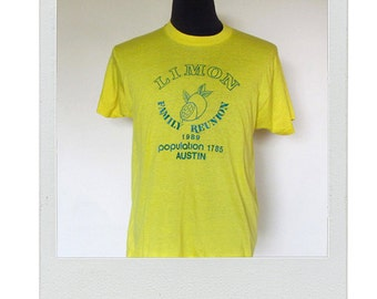 Vintage XL yellow tee