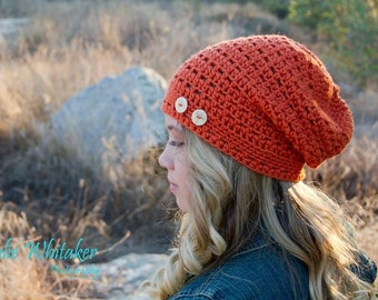 The Cade Cap - crochet made to order - used The Velvet Acorn pattern