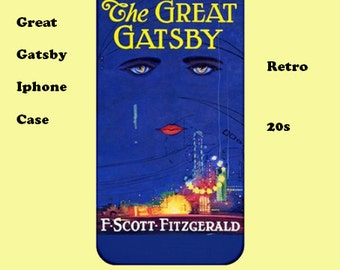 Great Gatsby  iphone case, iphone case, 20's, cover, retro, iphone 6, iphone 5, cover, iphone 6 plus, iphone 4