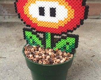 "Super Mario Bros. ""Fire Flower"" Potted Plant"