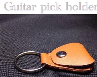 Guitar Pick Key Chain