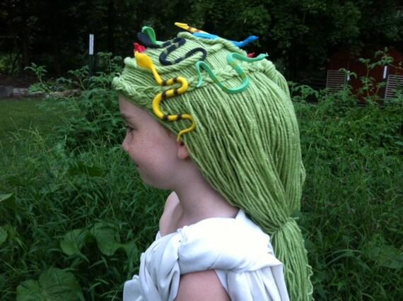 how to make snakes for medusa hair
