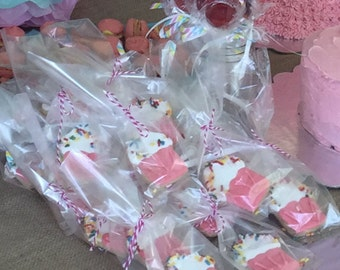 Birthday party, cupcake sugar cookies with sprinkles (1 Dozen)