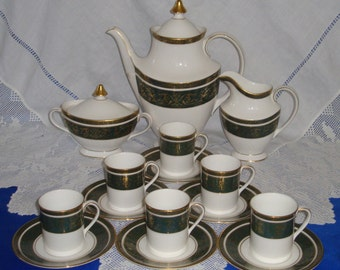 Royal Doulton VANBOROUGH Coffee Set Unrivalled Quality