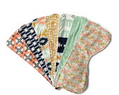 Baby Burp Cloths | Contoured Burp Rags |...