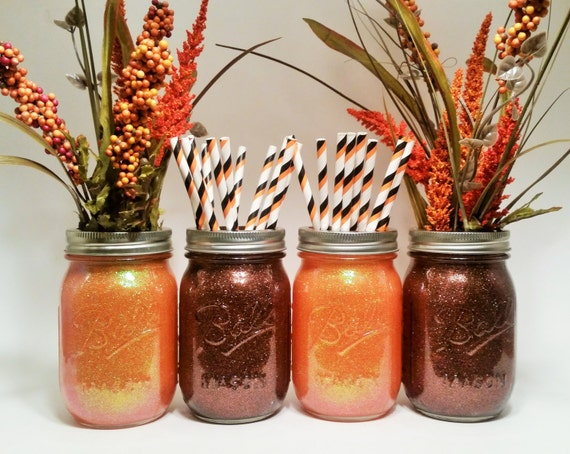 Fall wedding centerpiece thanksgiving