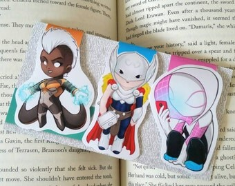 Marvel Girls Magnetic Bookmarks