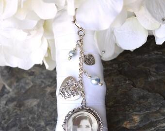 Bridal Bouquet Charm - Something Blue Bouquet Charm - Wedding Bouquet Charm - Bridal Gift - Bouquet Memorial Charms - Bridal Accessories