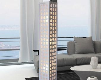 New white Modern Contemporary Floor lamp ZK007L Decor Design lighting for Living Family room Bedroom