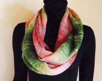 Scarf ring scarf-collar-wool yarn from, Chunky Scarf, infinity scarf