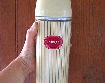 Retro Vintage Vacuum Flask Isovac 1950