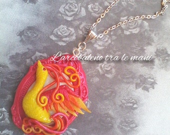 Handmade cameo handmade Cameo Phoenix Phoenix