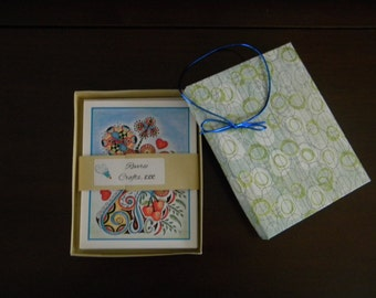 Blank Note Cards - 8 Assorted