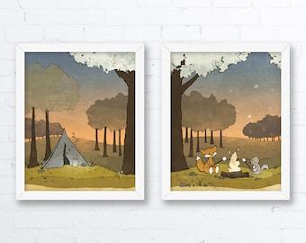 Forest Nursery Art Prints
