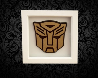 Tansformer Auto Bot Box Frame Art