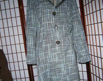 Women's Tweed Coat - Larry Levine
