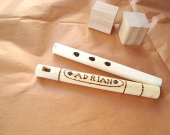 Custom whistle. Custom wooden whistle. Musical instrument. Wooden toy