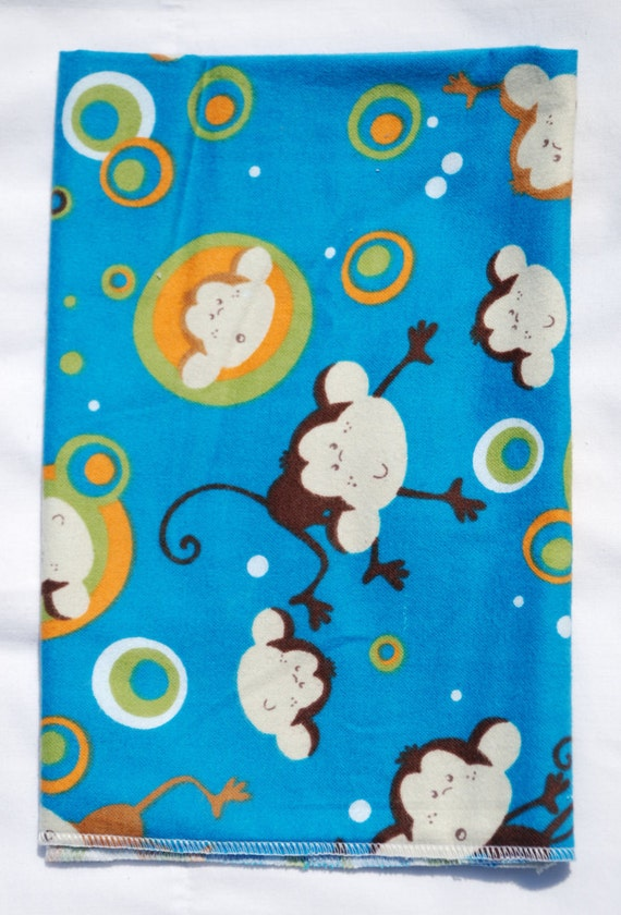 Space monkeys flannel baby blanket by pmccreations on etsy for Space flannel